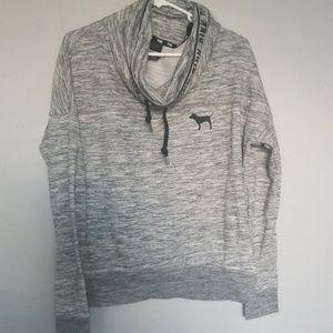 Pink Vs Cowl neck hoodie